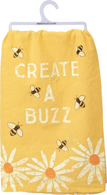 Create A Buzz Dish Towel
