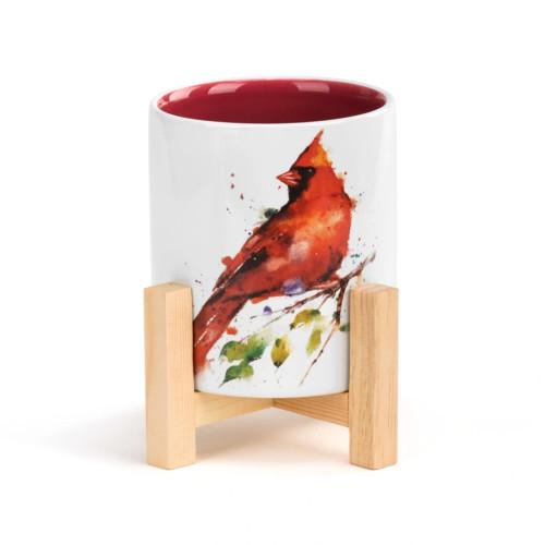 Cardinal Herb Planter
