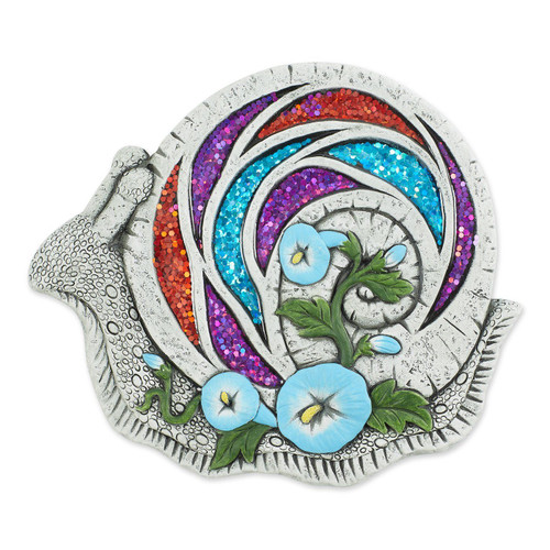 Glittering Snail Stepping Stone