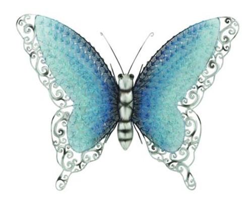 Iridescent Butterfly Wall Décor
