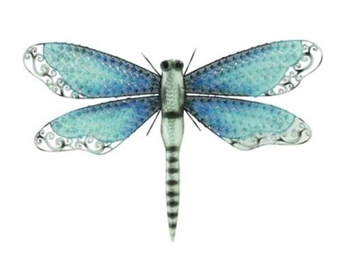 Iridescent Dragonfly Wall Décor