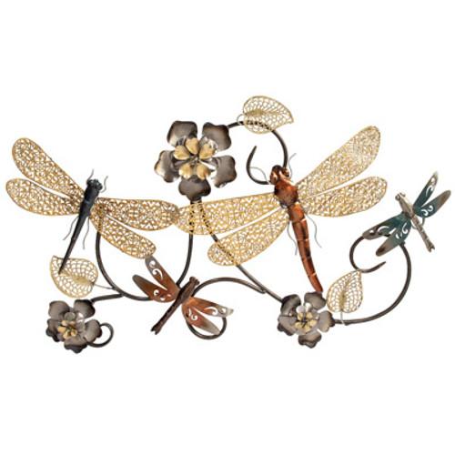 Dragonflies Wall Sculpture