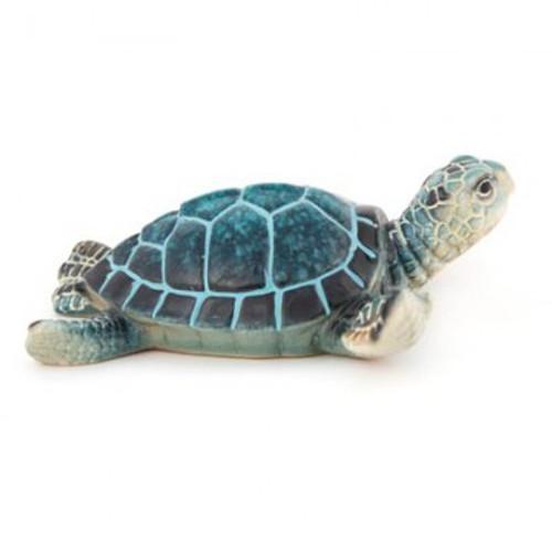 Blue Sea Turtle Figurine