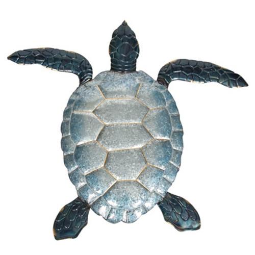 Galvanized Sea Turtle Wall Décor