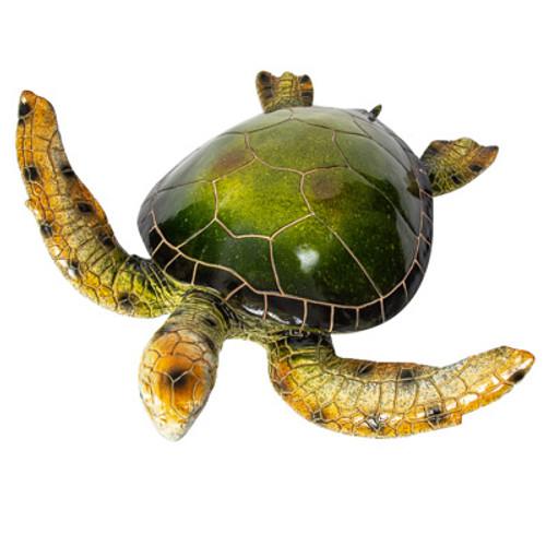 Extra Large Green Sea Turtle Figurine