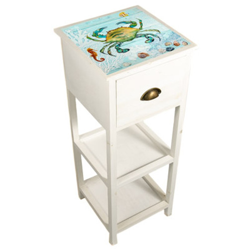 Crab Wood Accent Table