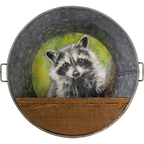 Raccoon Wall Shelf