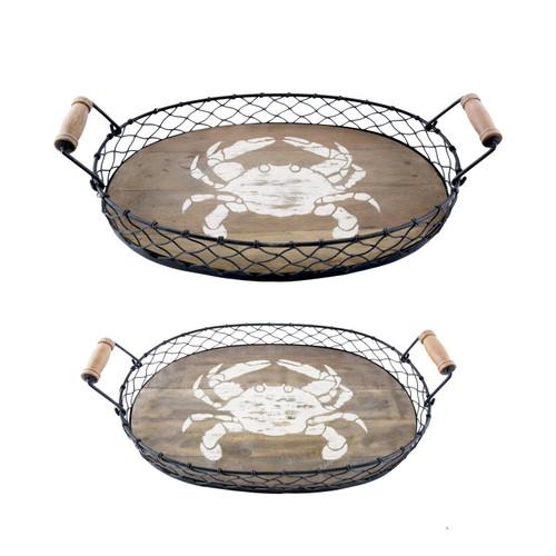 Crab Nesting Tray Set
