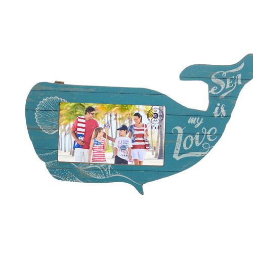 Blue Whale Photo Frame