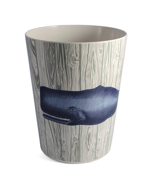 Blue Whale & Seahorse Waste Basket
