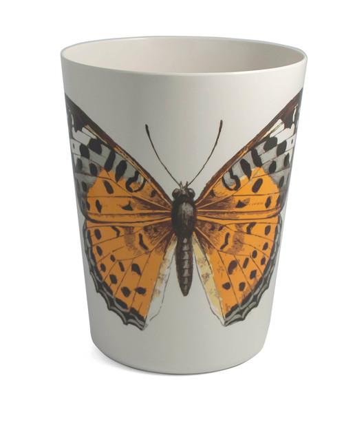 Colorful Butterflies Waste Basket
