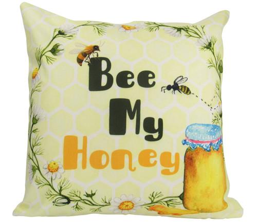 Bee My Honey Accent Pillow