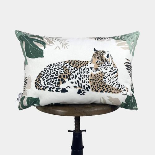 Leopard Lumbar Throw Pillow