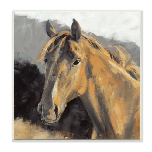 Brown Horse Plaque Art