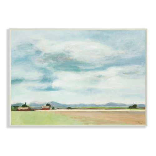 Barn & Farm Landscape Plaque Art