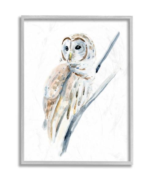Arctic Owl Framed Art