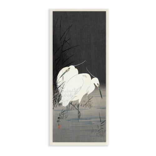 Egret Plaque Art