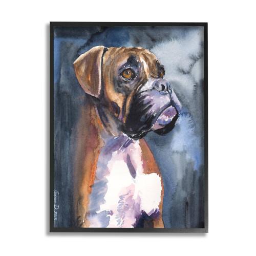 Boxer Framed Art