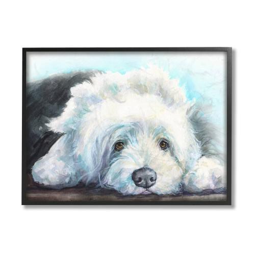 Old English Sheepdog Framed Art