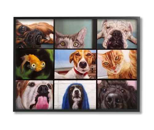 Pet Video Chat Framed Art