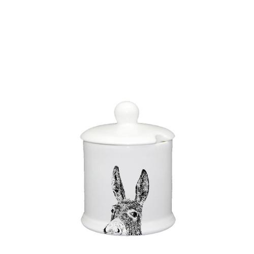 Donkey Condiment Jar