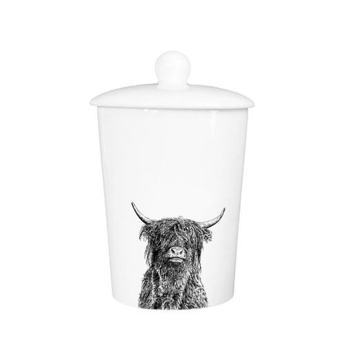 Highland Bull Canister/Cookie Jar