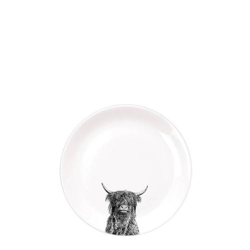 Highland Bull Dinner Plate