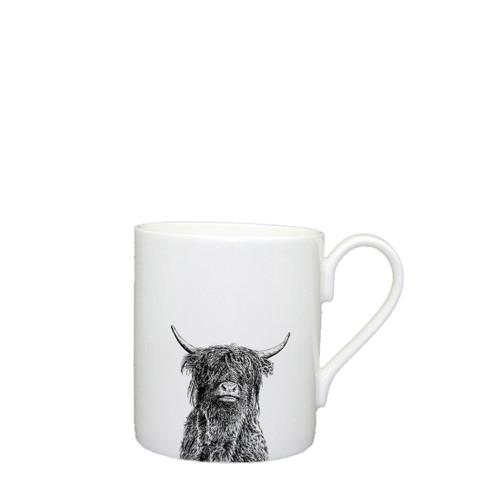 Highland Bull Mug, Large