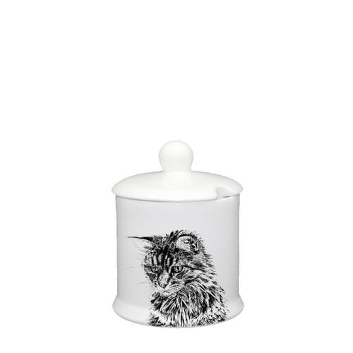 Cat Condiment Jar