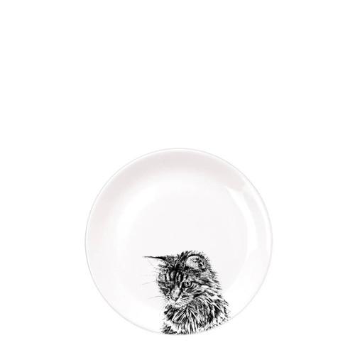 Cat Dinner Plate
