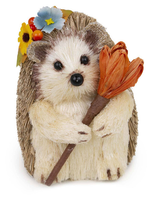 Autumn Hedgehog Figurine
