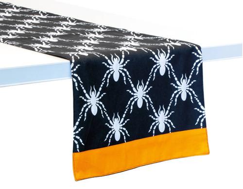 Black Spider Table Runner