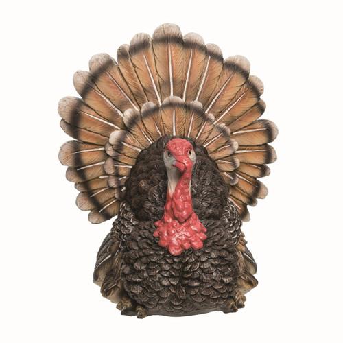 Brown Turkey Figurine