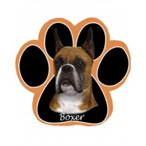 Boxer, Cropped Mouse Pad
