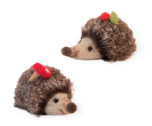 Holiday Hedgehog Figurines