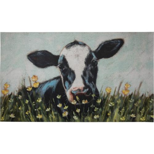 Black & White Cow Area Rug