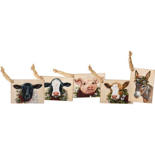 Farm Animal Gift Tag Set