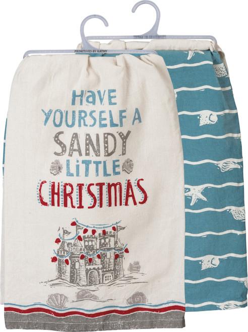 Sandy Little Christmas Kitchen Towel Set