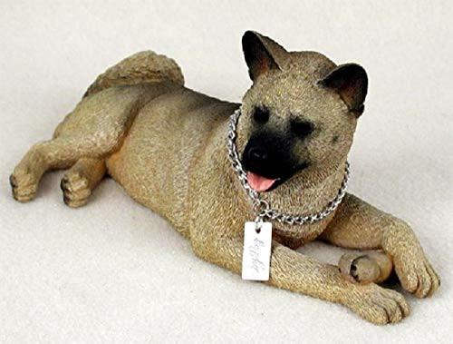 Akita, Fawn My Dog Figurine