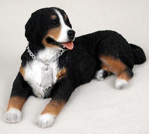 Bernese Mountain Dog My Dog Figurine