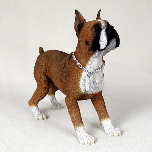 Boxer My Dog Figurine