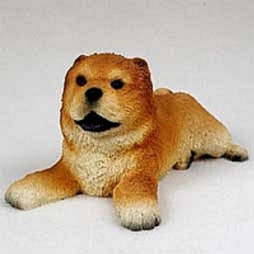 Chow, Red Puppy Figurine
