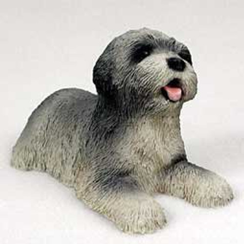 Lhasa Apso Puppy, Gray Figurine