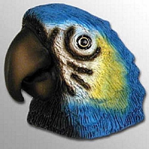 Blue Parrot Magnet