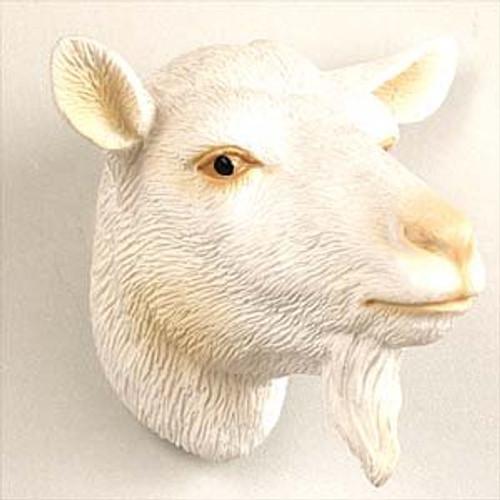 Goat White Magnet