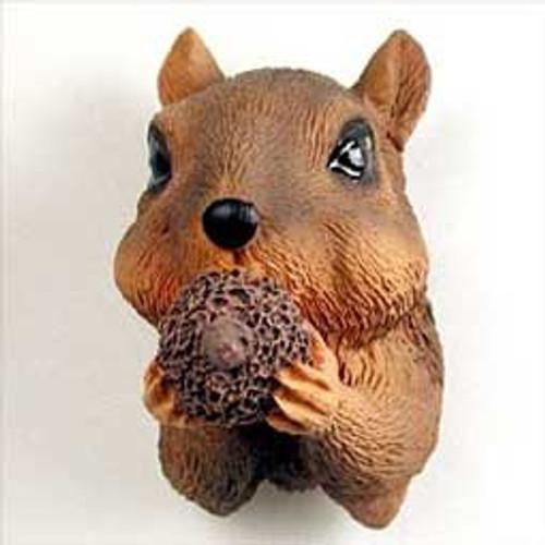 Squirrel Red Magnet