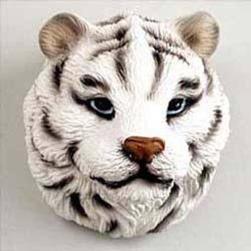 Tiger, White Magnet