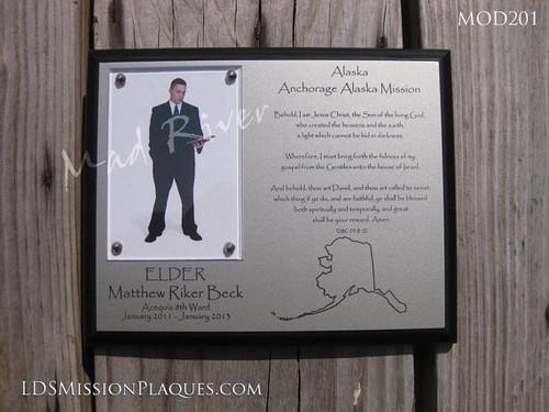 LDS Mission plaques