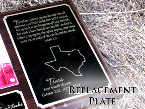 Replacement Plate - Large