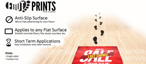 FootPrints Anti-Alip Surface Per Square Foot